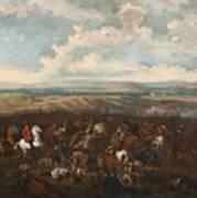 The Battle Of Oudenaarde Art Print