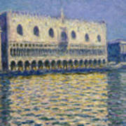 The Doges Palace Art Print
