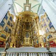 The Historical Mexico City Metropolitan Cathedral Art Print