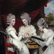 The Ladies Waldegrave Art Print