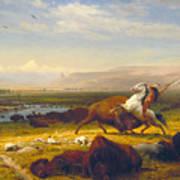 The Last Of The Buffalo Art Print