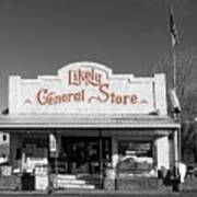 The Likely General Store - California  Art Print