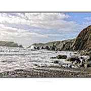 The Pembrokeshire Coast Art Print