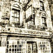 The Prospect Of Whitby Pub London Vintage Art Print