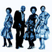 The Staple Singers Collection Art Print