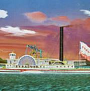 The Steamship Syracuse Art Print