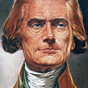 Thomas Jefferson (1743-1826) Art Print
