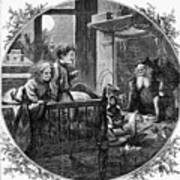 Thomas Nast: Christmas Art Print by Granger