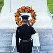 Tomb Of The Unknown Soldier Art Print by John Greim