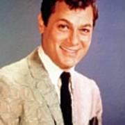 Tony Curtis Vintage Hollywood Actor Art Print