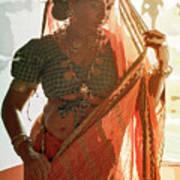 Tribal Beauty Of India Art Print