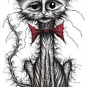 Ugly Cat Art Print