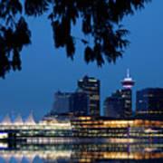 Vancouver Skyline Canada Art Print