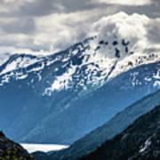 White Pass Mountains In British Columbia Art Print