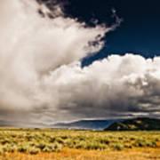 Wyoming Sky Art Print
