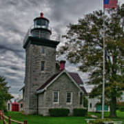 30-mile Point Lighthouse 3197 Art Print