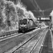 301 Ice Train Art Print