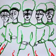 Five Wise Virgins Art Print