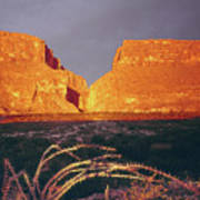 317828 Sunrise On Santa Elena Canyon  Art Print