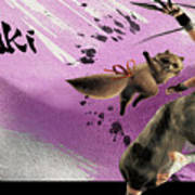 32943 Street Fighter Art Print