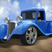 34 Dodge Pickup Art Print