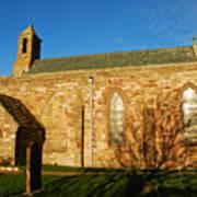 Lindisfarne Priory Art Print