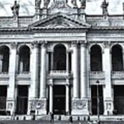 winter in Rome Art Print