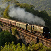 34067 Tangmere On Return. Art Print