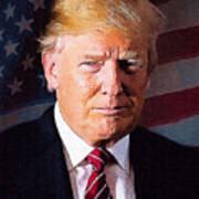 Donald Trump Art Print