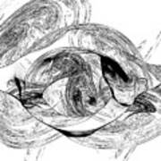 Bw Sketches Art Print