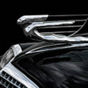 37 Cadillac Hood Angel Art Print