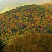 North Carolina Fall Colors Art Print