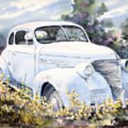 39 Chevy Art Print