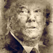 Donald Trump Art Print