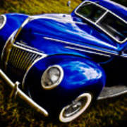 39 Ford V8 Coupe Art Print