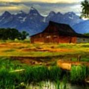 Oil Painting Landscape Pictures Art Print