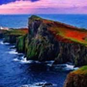 Original Landscape Paintings Art Print