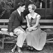 Silent Film Still: Couples Art Print