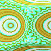 3d Candy Circles  Art Print