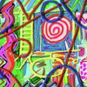 3d Jazz Art Print