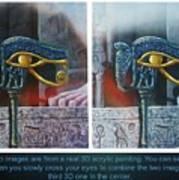 3 Dimensional Painting Art Print