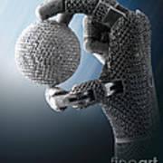 3d Printing Additive Robotic Hand Art Print