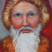 3d Santa Art Print