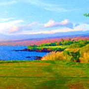 3rd Across The Bay At Mauna Kea Art Print