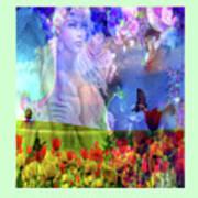 Angel In A Field Art Print