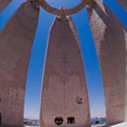 Aswan Dam Memorial Art Print