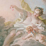 Aurora And Cephalus Art Print