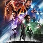 Avengers Infinity War Art Print