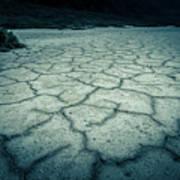 Badwater Basin Death Valley Salt Formations Art Print