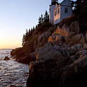 Bass Harbor Head Lighthouse Acadia National Park Art Print